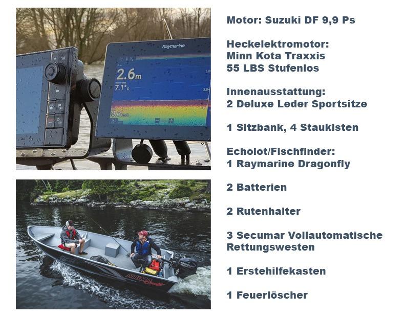 In Holland ein Angelboot mit Motor mieten ohne Führerscheinpflicht